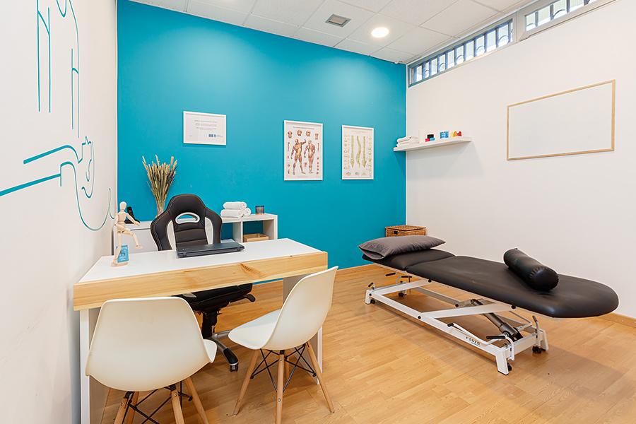 Sala de masajes 1 | Hábitos - Fisioterapia Vigo