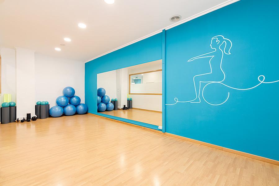 Sala de ejercicios | Hábitos - Fisioterapia Vigo
