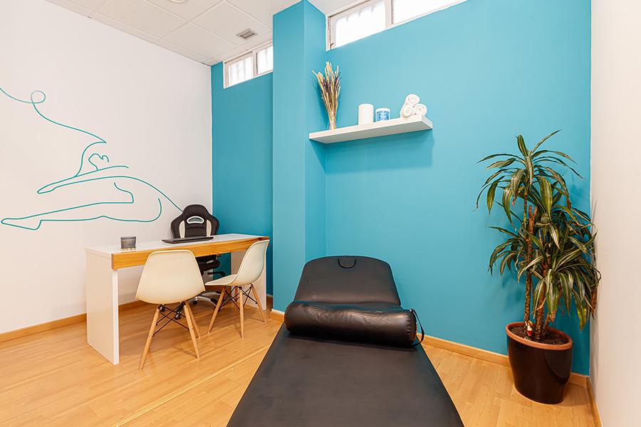 Sala de masajes 2 | Hábitos - Fisioterapia Vigo
